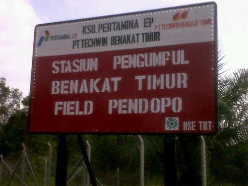 KSO Pertamina EP - Techwin Benakat Timur